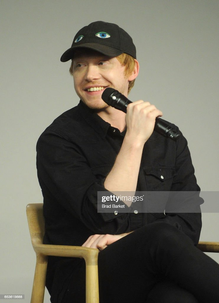 Actor Rupert Grint discusses 'Snatch' at Apple Store Soho on March 15, 2017 in New York City.