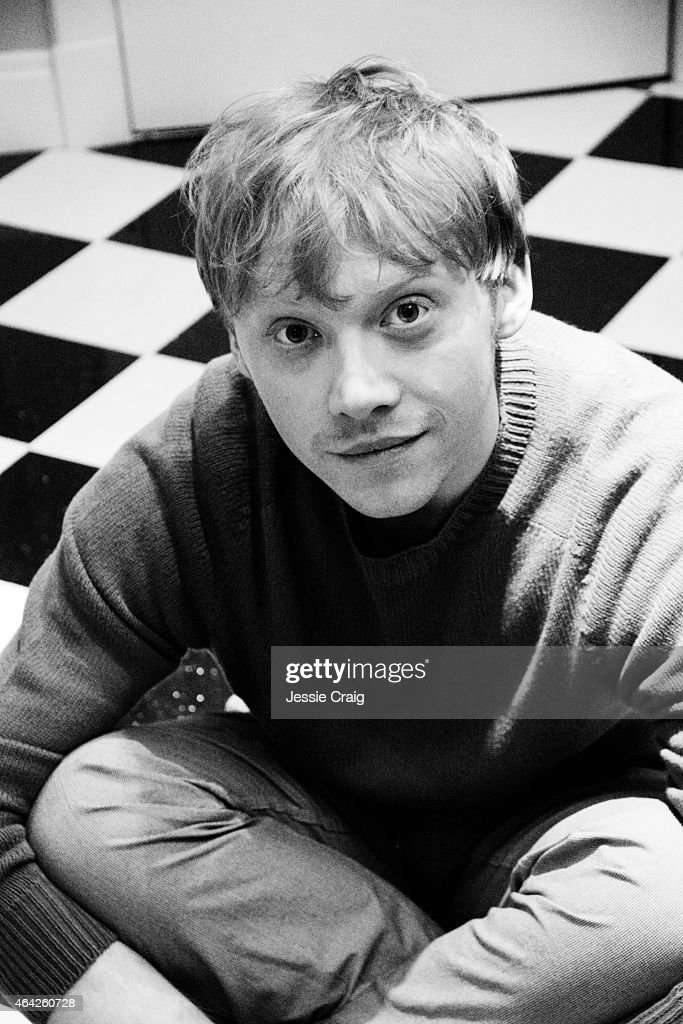 Actor Rupert Grint is photographed for Wonderland magazine on January 21, 2014 in London, England.