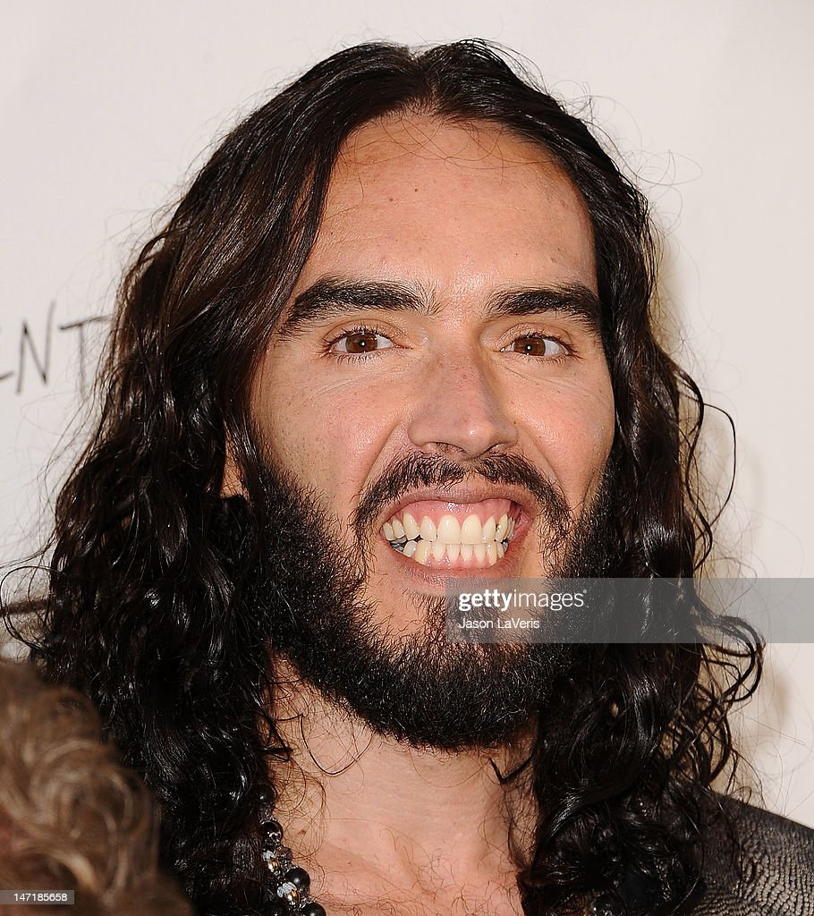 Actor Russell Brand attends the FX summer comedies party at Lure on June 26, 2012 in Hollywood, California.