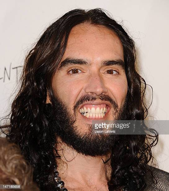 Actor Russell Brand attends the FX summer comedies party at Lure on June 26 2012 in Hollywood California