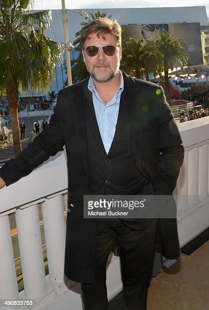 Actor Russell Crowe attends a presentation of 'The Water Diviner' at the 67th Annual Cannes Film Festival on May 15 2014 in Cannes France