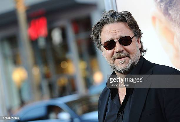 Actor Russell Crowe attends the premiere of 'The Water Diviner' at TCL Chinese Theatre IMAX on April 16 2015 in Hollywood California