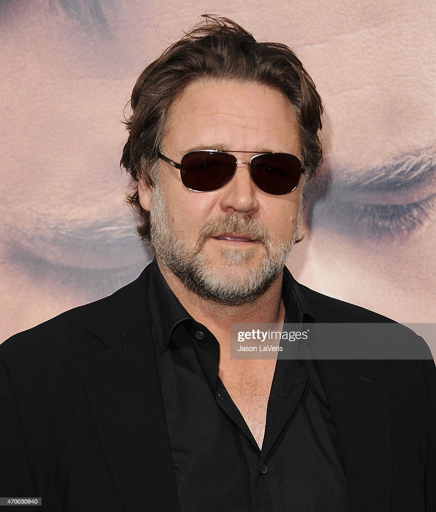 Actor Russell Crowe attends the premiere of 'The Water Diviner' at TCL Chinese Theatre IMAX on April 16, 2015 in Hollywood, California.