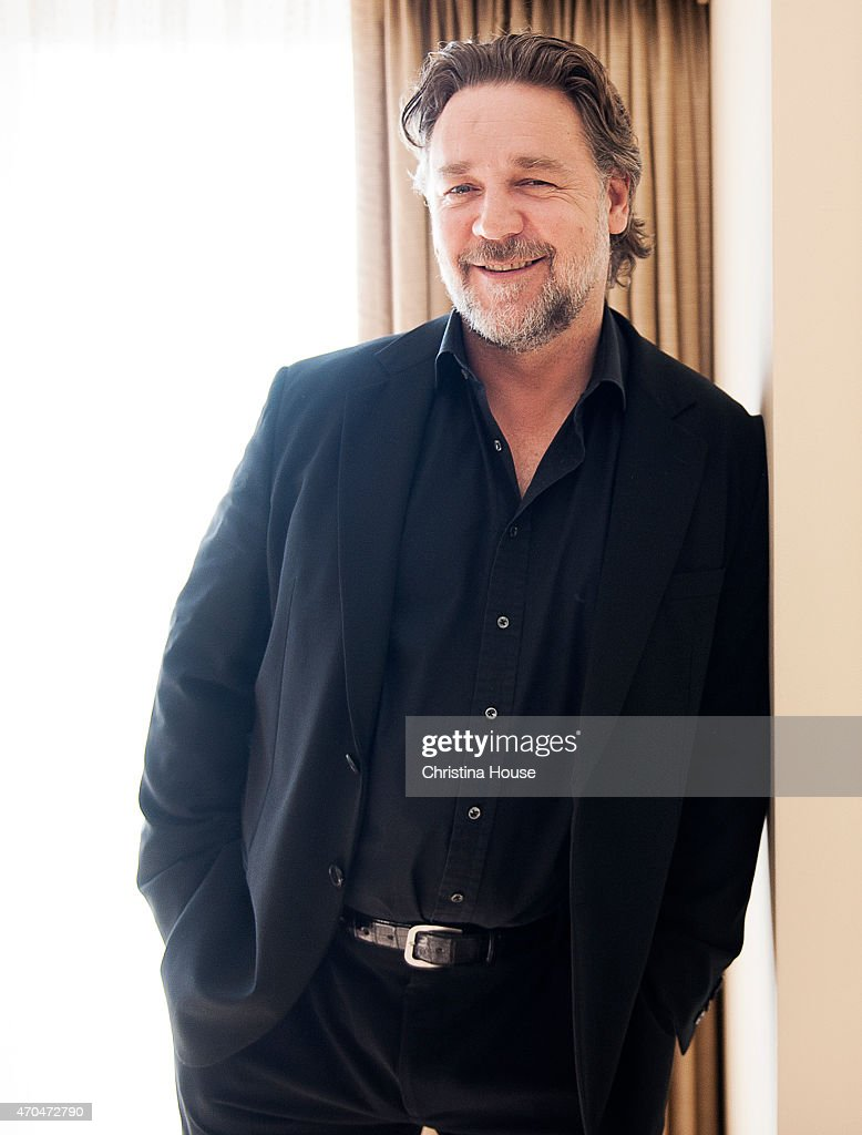 Actor <a gi-track='captionPersonalityLinkClicked' href=/galleries/search?phrase=Russell+Crowe&family=editorial&specificpeople=202609 ng-click='$event.stopPropagation()'>Russell Crowe</a> is photographed for Los Angeles Times on April 12, 2015 in Beverly Hills, California. PUBLISHED
