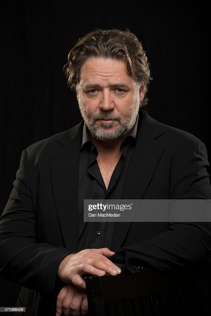 Actor <a gi-track='captionPersonalityLinkClicked' href=/galleries/search?phrase=Russell+Crowe&family=editorial&specificpeople=202609 ng-click='$event.stopPropagation()'>Russell Crowe</a> is photographed for USA Today on April 16, 2015 in Beverly Hills, California.