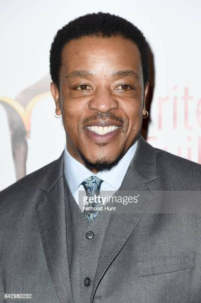 Actor Russell Hornsby attends 69th Writers Guild Awards New York Ceremony at Edison Ballroom on February 19 2017 in New York City