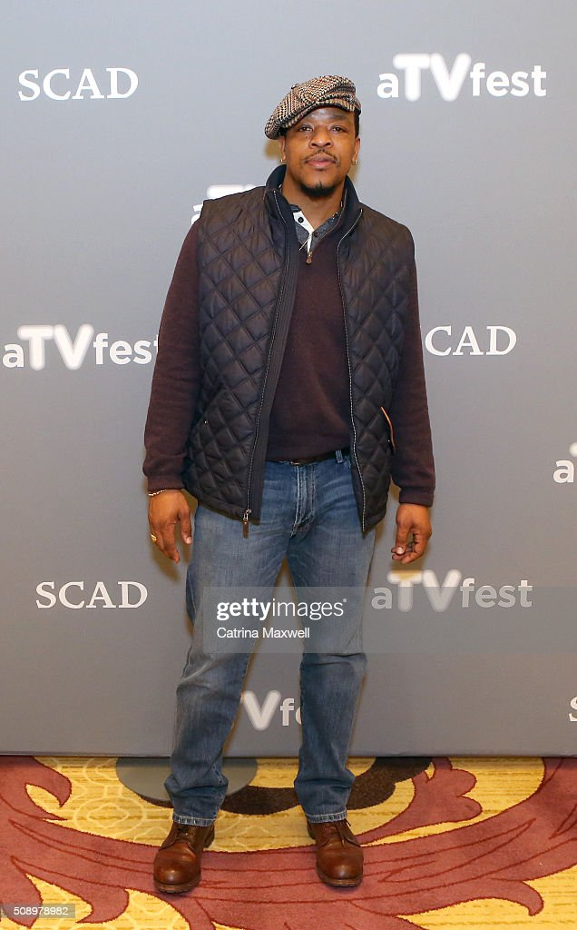 Actor Russell Hornsby attends the 'Grimm' event during aTVfest 2016 presented by SCAD on February 7, 2016 in Atlanta, Georgia.