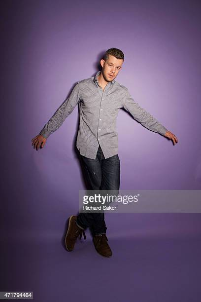 Actor Russell Tovey is photographed for the Observer on March 1 2015 in London England