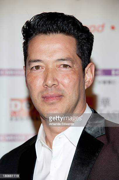 Actor Russell Wong arrives at the Bluray DVD Release Of Twentieth Century Fox Home Entertainment's 'Snow Flower And The Secret Fan' at the Directors...