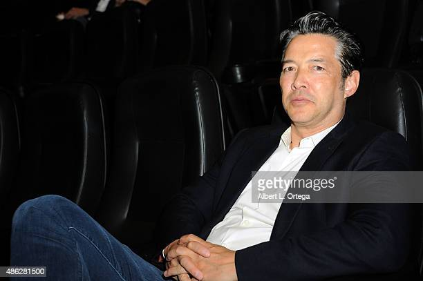 Actor Russell Wong at the screening of Safada Y Sano Productions' 'Aguruphobia' held at Laemmle NoHo 7 on September 2 2015 in North Hollywood...