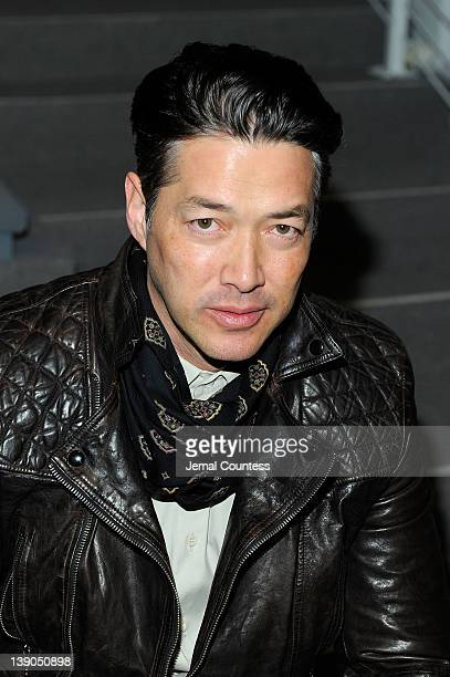 Actor Russell Wong attends the Vivienne Tam Fall 2012 fashion show during MercedesBenz Fashion Week at The Stage at Lincoln Center on February 15...