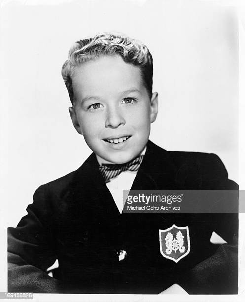 Actor Rusty Hamer poses for a portrait in circa 1955