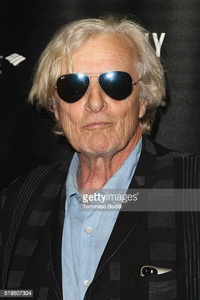 Actor Rutger Hauer attends the Beverly Hills Film Festival Opening Night Premiere Of 'The Lennon Report' And 'Baby Baby Baby' at TCL Chinese 6...