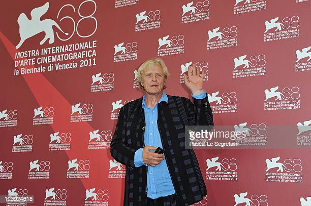 Actor Rutger Hauer attends the 'Il Villaggio Di Cartone' photocall at the Palazzo del Cinema during the 68th Venice Film Festival on September 6 2011...