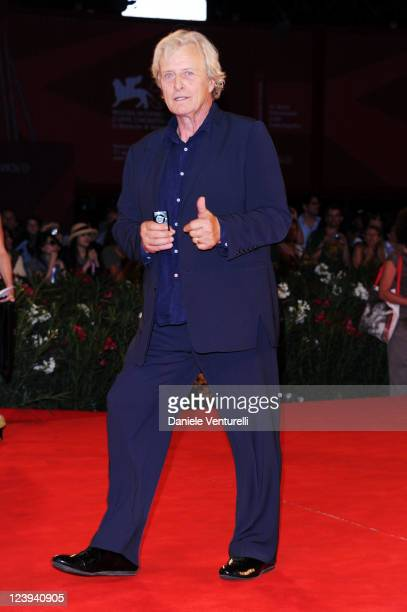 Actor Rutger Hauer attends the 'Il Villaggio di Cartone' Premiere during the 68th Venice International Film Festival at Palazzo del Casino on...