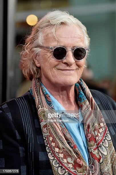 Actor Rutger Hauer attends the premiere of HBO's 'True Blood' Season 6 at ArcLight Cinemas Cinerama Dome on June 11 2013 in Hollywood California