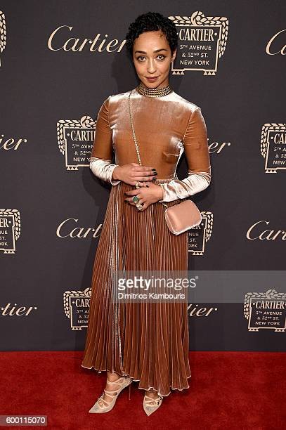 Actor Ruth Negga attends the Cartier Fifth Avenue Grand Reopening Event at the Cartier Mansion on September 7 2016 in New York City