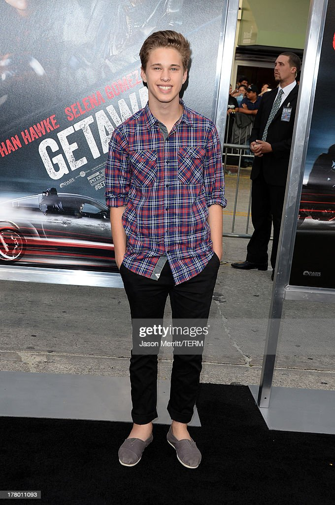 Actor Ryan Beatty attends the premiere of 'Getaway' presented by Warner Bros. Pictures at Regency Village Theatre on August 26, 2013 in Westwood, California.