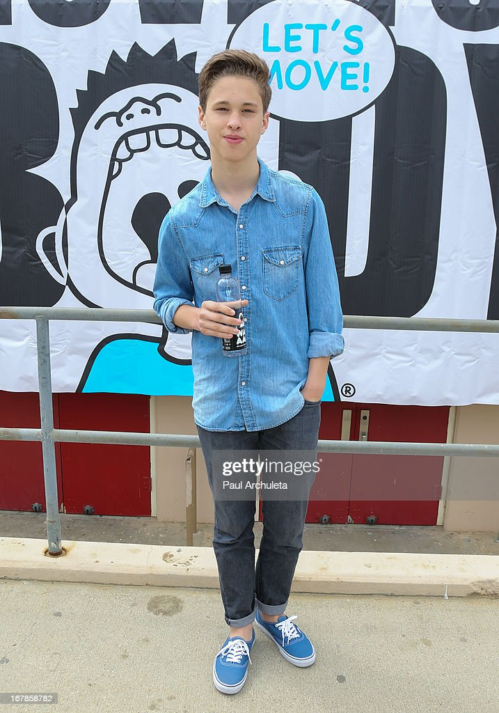 Actor <a gi-track='captionPersonalityLinkClicked' href=/galleries/search?phrase=Ryan+Beatty&family=editorial&specificpeople=8710529 ng-click='$event.stopPropagation()'>Ryan Beatty</a> attends The WAT-AAH! Foundation's 3rd annual Move Your Body 2013 event on May 1, 2013 in Los Angeles, California.