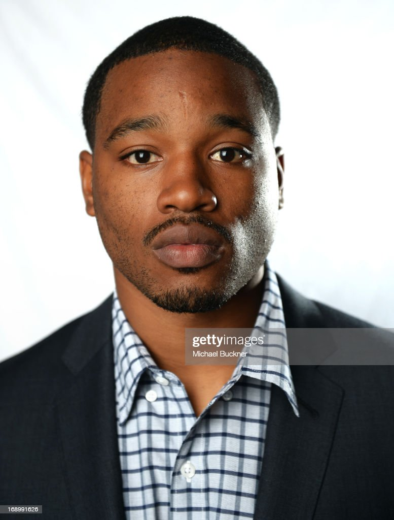 Actor <a gi-track='captionPersonalityLinkClicked' href=/galleries/search?phrase=Ryan+Coogler&family=editorial&specificpeople=7316581 ng-click='$event.stopPropagation()'>Ryan Coogler</a> poses for a portrait at the Variety Studio at the 66th Annual Cannes Film Festival at Chivas House on May 18, 2013 in Cannes, France.