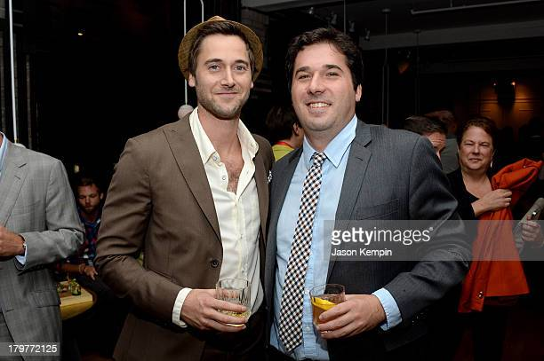 Actor Ryan Eggold and Producer Adam Gibbs attend the 'Lucky Them' World Premiere After Party AMC Storys Toronto International Film Festival on...