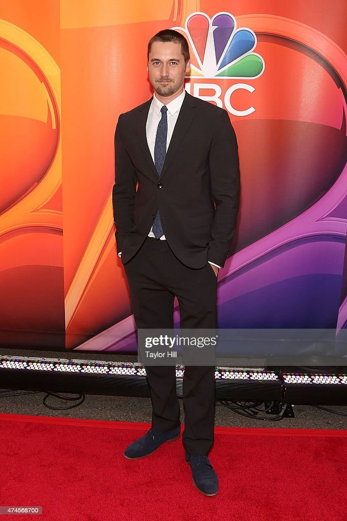 Actor Ryan Eggold attends the 2015 NBC Upfront Presentation red carpet event at Radio City Music Hall on May 11, 2015 in New York City.