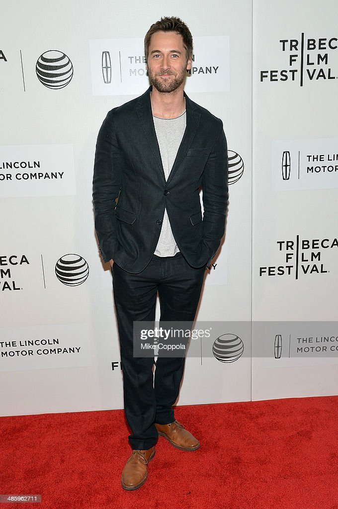 Actor <a gi-track='captionPersonalityLinkClicked' href=/galleries/search?phrase=Ryan+Eggold&family=editorial&specificpeople=4920527 ng-click='$event.stopPropagation()'>Ryan Eggold</a> attends the 'Lucky Them' Premiere during the 2014 Tribeca Film Festival at BMCC Tribeca PAC on April 21, 2014 in New York City.