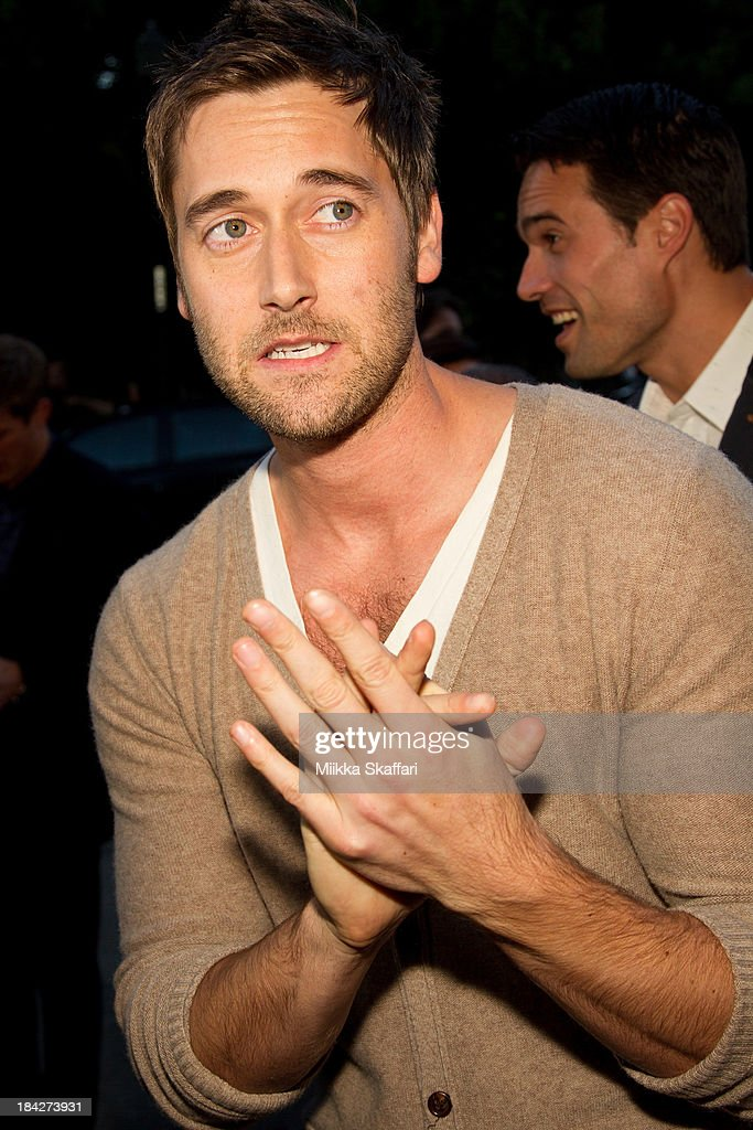 Actor <a gi-track='captionPersonalityLinkClicked' href=/galleries/search?phrase=Ryan+Eggold&family=editorial&specificpeople=4920527 ng-click='$event.stopPropagation()'>Ryan Eggold</a> is arriving to the premiere of 'Beside Still Waters' on October 12, 2013 in Mill Valley, California.