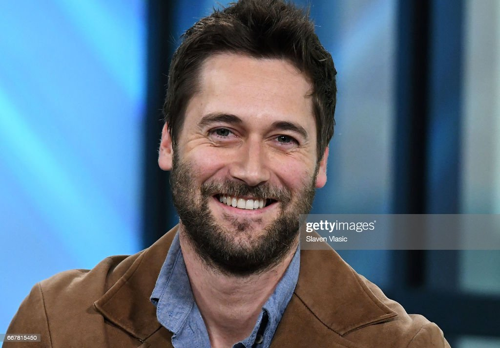 Actor Ryan Eggold visits Build Series to discuss 'The Blacklist: Redemption' and 'Literally, Right Before Aaron' at Build Studio on April 12, 2017 in New York City.
