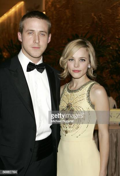 Actor Ryan Gosling and actress Rachel McAdams arrive at the Scientific and Technical Awards Presented By AMPAS at the Beverly Hilton Hotel on...