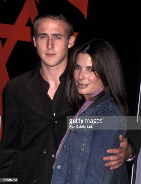 Actor Ryan Gosling and actress Sandra Bullock attend the Screening of Showtime's Original Movie 'The Believer' on September 6 2001 at DGA Theatre in...