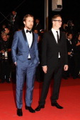 Actor Ryan Gosling and director Nicolas Winding Refn attend the 'Drive' premiere during the 64th Annual Cannes Film Festival at Palais des Festivals...