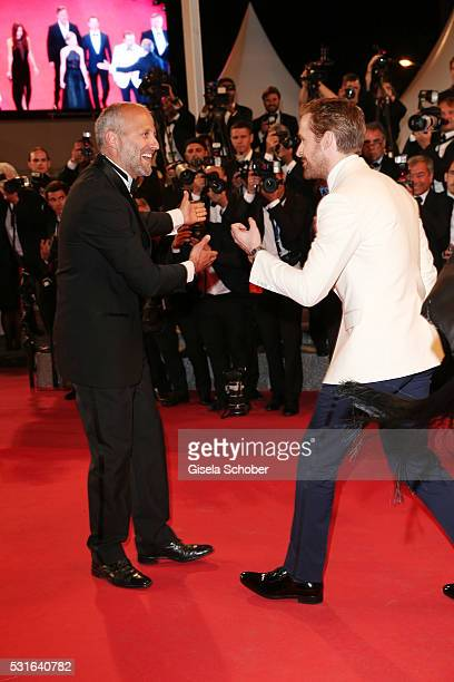 Actor Ryan Gosling arriving at 'The Nice Guys' premiere during the 69th annual Cannes Film Festival at the Palais des Festivals on May 15 2016 in...