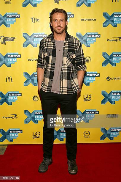 Actor Ryan Gosling attends 'A Conversation with Ryan Gosling' during the 2015 SXSW Music Film Interactive Festival at Austin Convention Center on...