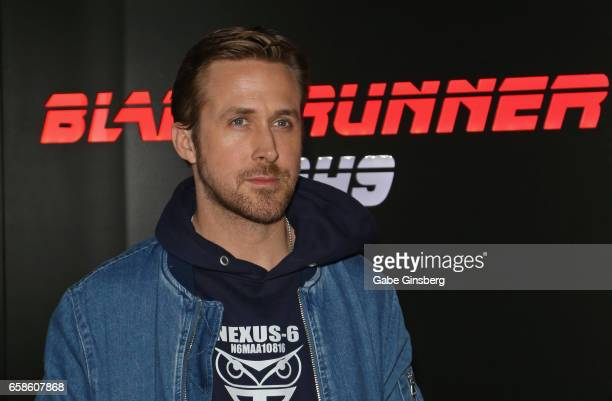 Actor Ryan Gosling attends a photo call for Alcon Entertainment's 'Blade Runner 2049' in association Columbia Pictures domestic distribution by...