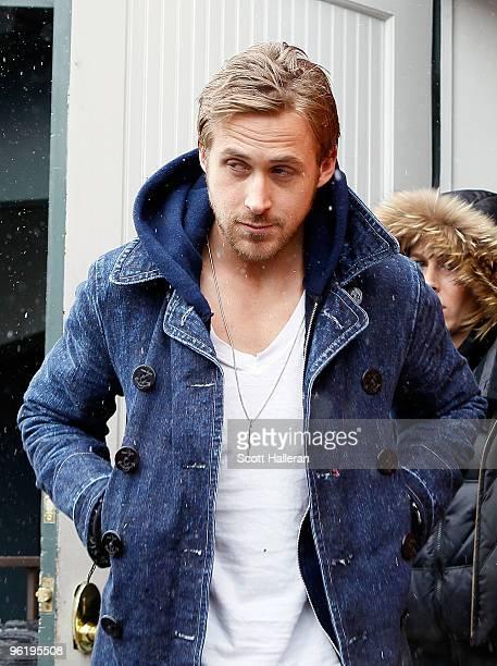 Actor Ryan Gosling attends the 2010 Sundance Film Festival on January 26 2010 in Park City Utah