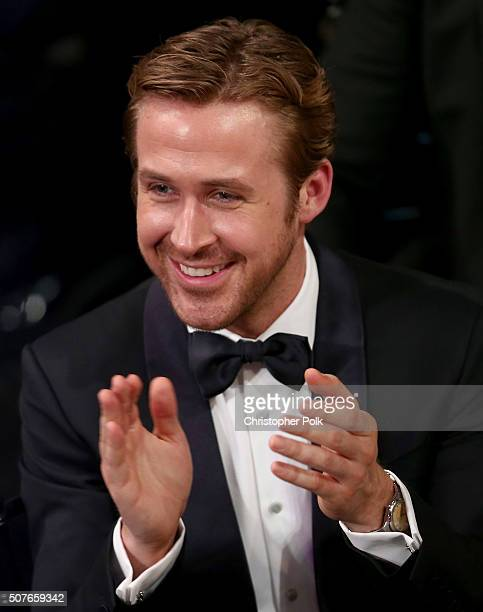 Actor Ryan Gosling attends The 22nd Annual Screen Actors Guild Awards at The Shrine Auditorium on January 30 2016 in Los Angeles California 25650_018