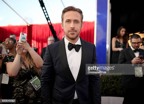 Actor Ryan Gosling attends The 23rd Annual Screen Actors Guild Awards at The Shrine Auditorium on January 29 2017 in Los Angeles California 26592_012