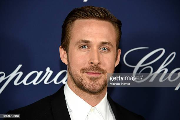 Actor Ryan Gosling attends the 28th Annual Palm Springs International Film Festival Film Awards Gala at the Palm Springs Convention Center on January...