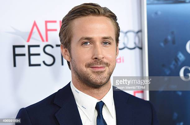 Actor Ryan Gosling attends the closing night gala premiere of Paramount Pictures' 'The Big Short' during AFI FEST 2015 at TCL Chinese Theatre on...