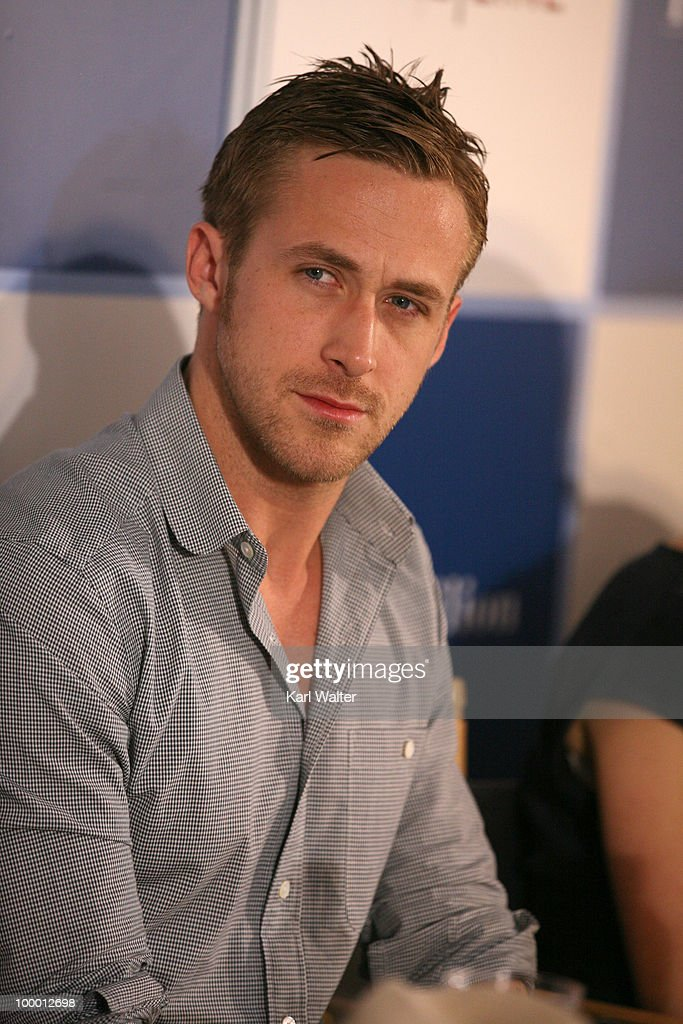 Actor Ryan Gosling attends the 'Industry In Focus - Blue Valentine' at the American Pavillion during the 63rd Annual Cannes Film Festival on May 20, 2010 in Cannes, France.