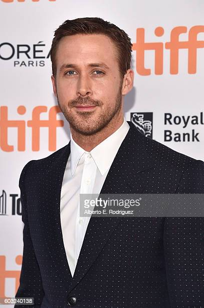 Actor Ryan Gosling attends the 'La La Land' Premiere during the 2016 Toronto International Film Festival at Princess of Wales Theatre on September 12...