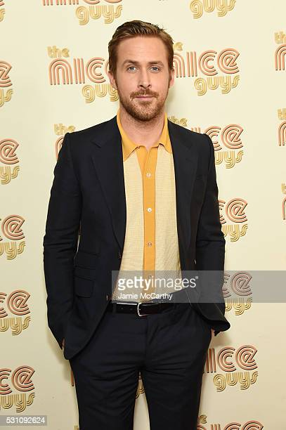 Actor Ryan Gosling attends 'The Nice Guys' New York Screening at Metrograph on May 12 2016 in New York City