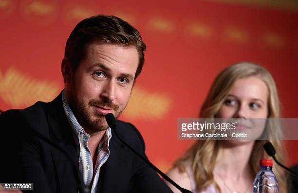 Actor Ryan Gosling attends 'The Nice Guys' Press Conference during the 69th annual Cannes Film Festival at the Palais des Festivals on May 15 2016 in...