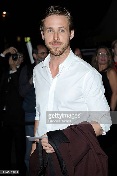 Actor Ryan Gosling attends the Palme D'Or Winners Dinner at the Palais des Festivals during the 64th Cannes Film Festival on May 22 2011 in Cannes...