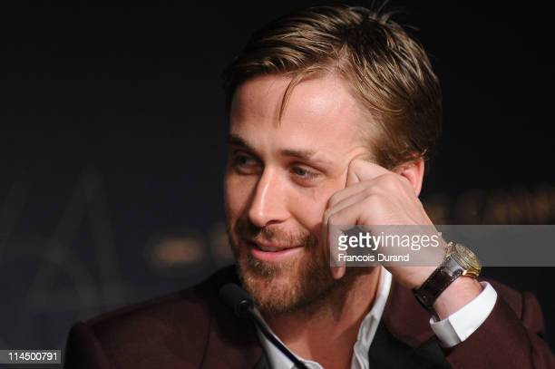 Actor Ryan Gosling attends the Palme d'Or Winners Press Conference during the 64th Annual Cannes Film Festival at Palais des Festivals on May 22 2011...