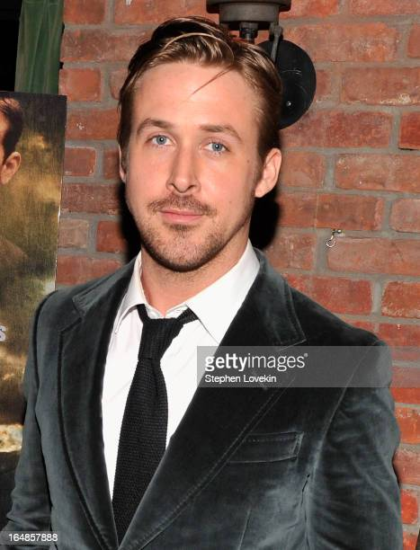 Actor Ryan Gosling attends 'The Place Beyond The Pines' New York Premiere After Party at The Bowery Hotel on March 28 2013 in New York City