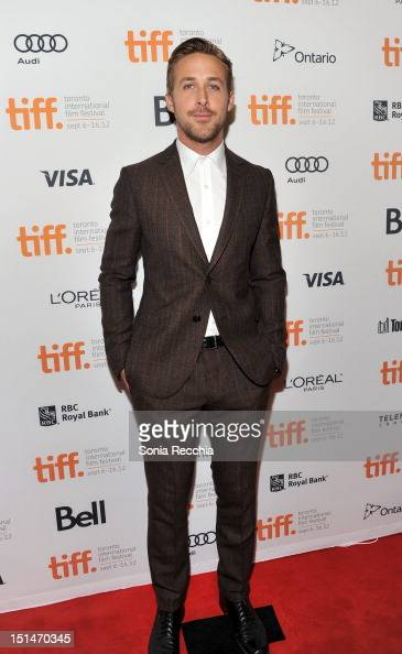 Actor Ryan Gosling attends 'The Place Beyond The Pines' premiere during the 2012 Toronto International Film Festival at Princess of Wales Theatre on...