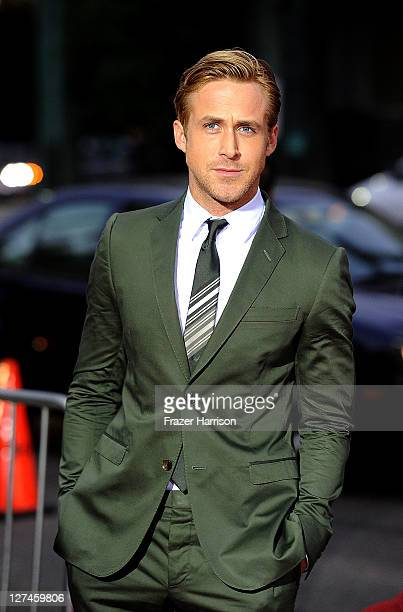Actor Ryan Gosling attends the Premiere of Columbia Pictures' 'The Ides Of March' held at the Academy of Motion Picture Arts and Sciences' Samuel...