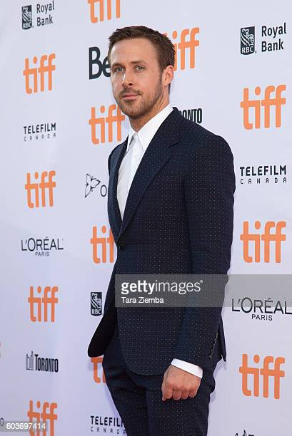 Actor Ryan Gosling attends the premiere of 'La La Land' during the 2016 Toronto International Film Festival at Princess of Wales Theatre on September...